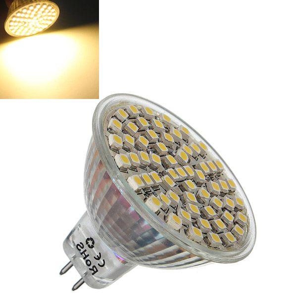 Mr16 4w Warm White 360lm Smd 3528 Led Spot Lightt Bulb 12v Dc Spotlight Bulbs Led Spotlight Led Light Bulbs