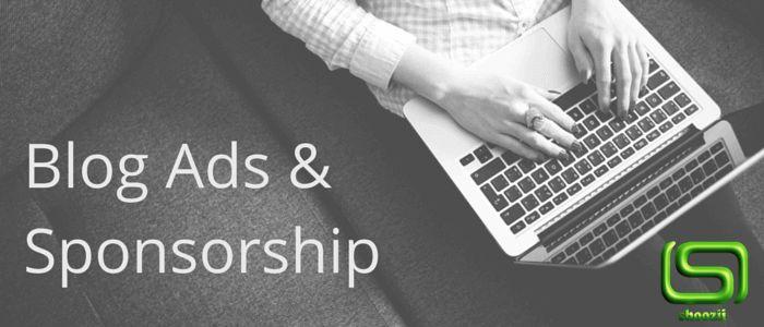 Blog Sponsorship