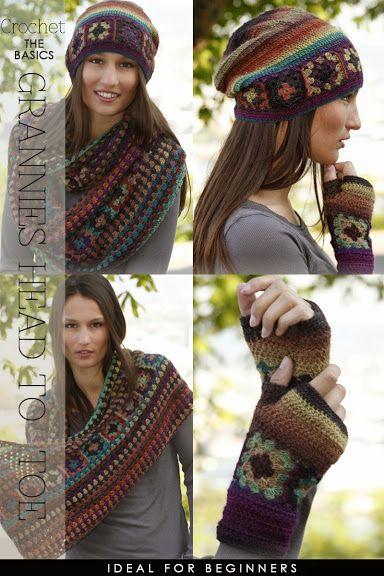 Crochet Granny Squares from head to toe - DiaryofaCreativeFanatic