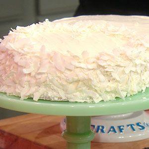 The Raechel Ray Show Vanilla Cake