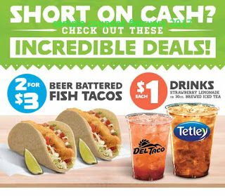 Taco Johns coupons february