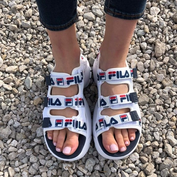 Fila Disruptor Sandals for the