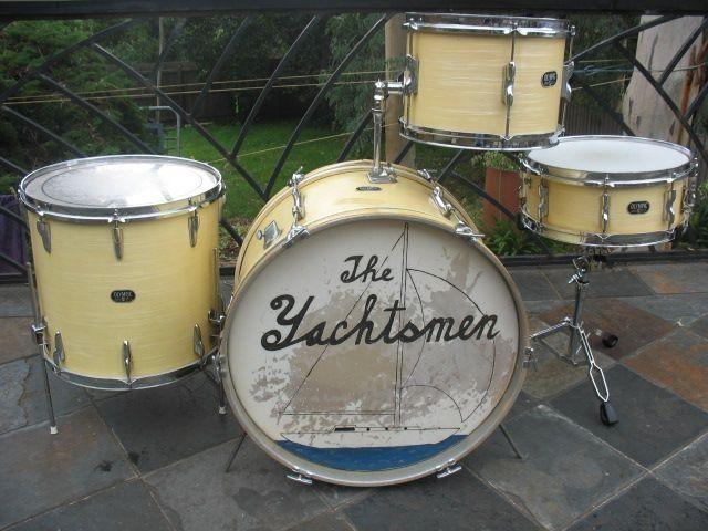 vintage drum kits olympic premier 60 39 s vintage 4 piece drum kit for sale in doncaster. Black Bedroom Furniture Sets. Home Design Ideas