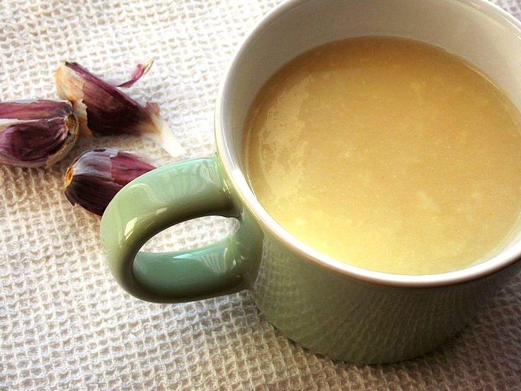 Zupa krem czosnkowa