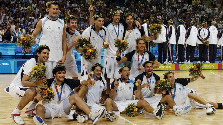 Básquetbol. Andrés Chapu Nocioni campeón olimpico en Atenas 2004. El alero anunció a los 37 años su retiro del básquetbol. Foto. Marcelo Figueras