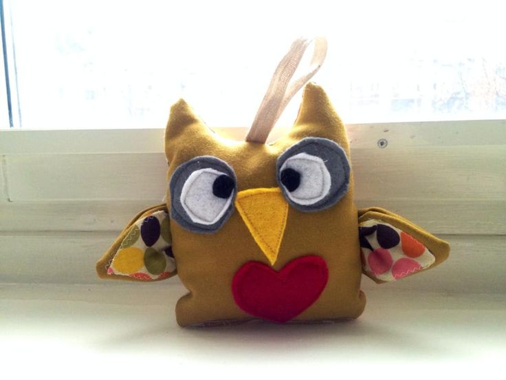 Free pattern + tutorial Little cute owl plush toy