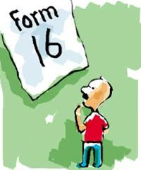 What is Form 16? Form 16 is the certificate issued by the employer stating that the Tax Deducted at Source (TDS)  has been deducted from the salary. Form 16 is required while filing income tax return