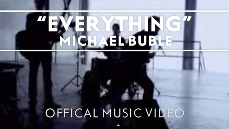 Michael Bublé - Everything [Official Music Video] Great song for an upbeat and fun dance for the couple getting married