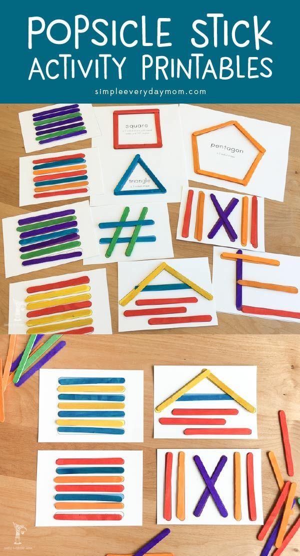 Straightforward Prep Popsicle Stick Tasks For Younger Kids
