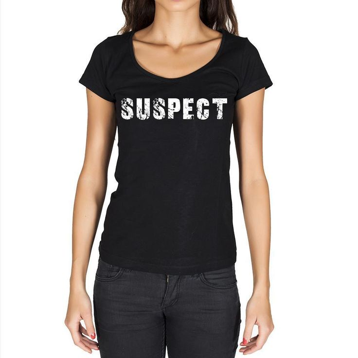 suspect Women's Short Sleeve Rounded Neck T-shirt