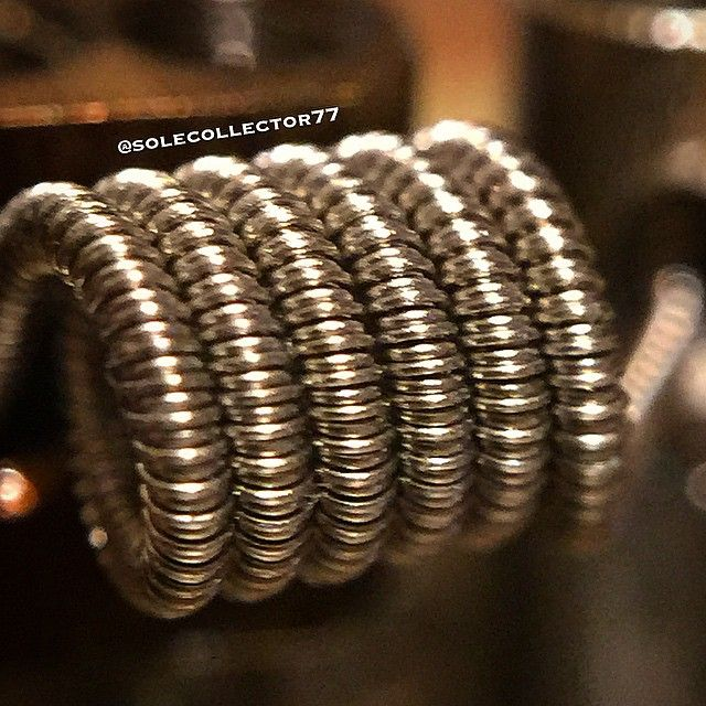 triple clapton 26g nichrome wrapped with 34g 36g and 38g nichrome dual coil vaping. Black Bedroom Furniture Sets. Home Design Ideas