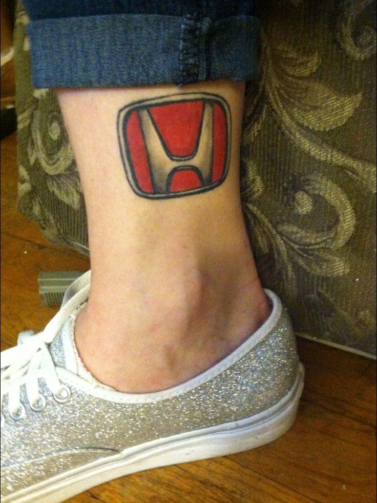 My honda tattoo :D | Honda love | Pinterest | Cleanses ...