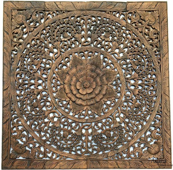 26 best Boho Wall Art images on Pinterest Mandalas Wooden walls
