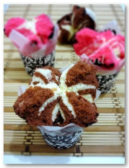 Bolu Kukus #Indonesian steamed cup cake