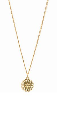 Lotus Petite Pendant - Gold | Shop New Zealand NZ$ 398.90