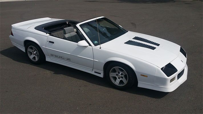 You Can't Get Better Vlaue Than A 1989 Chevrolet Camaro IROC Z Click to Find out more - http://fastmusclecar.com/best-muscle-cars/cant-get-better-vlaue-1989-chevrolet-camaro-iroc-z/ COMMENT.