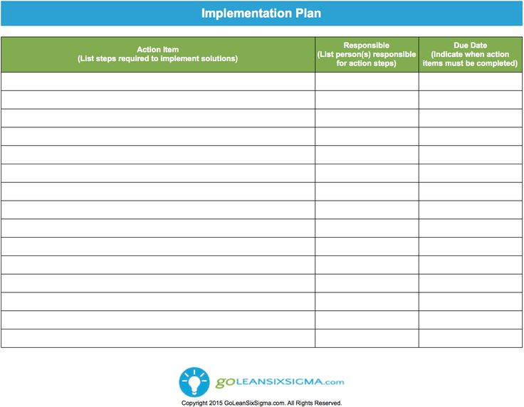 119 best Lean Six Sigma Templates images on Pinterest Templates - plan of action template