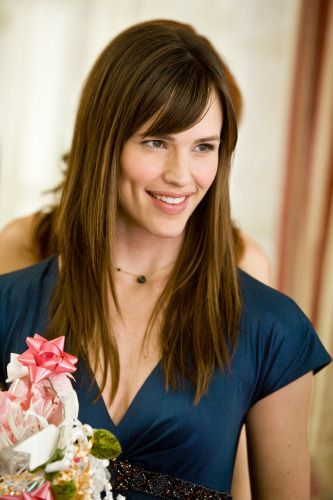 haircut with jennifer garner bangs - my usual.