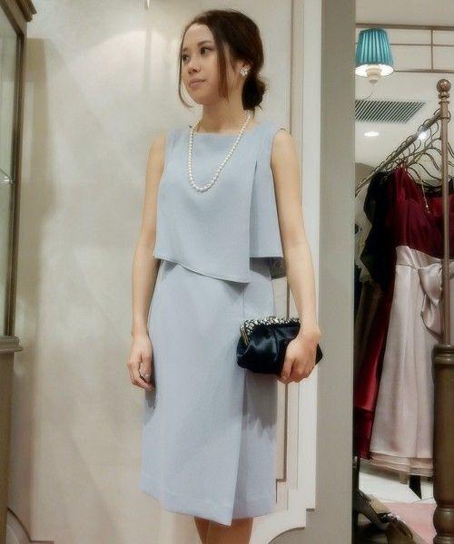 【AIMER】 セットアップ風 ワンピース 結婚式・二次会(ドレス)|AIMER(エメ)のファッション通販 - ZOZOTOWN