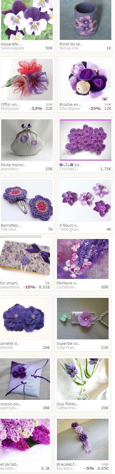 Collection réalisée par récup-création.  www.alittlemarket/boutique/recup-creation