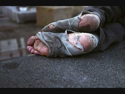 Homelessness...no one should have to face life without a place to live