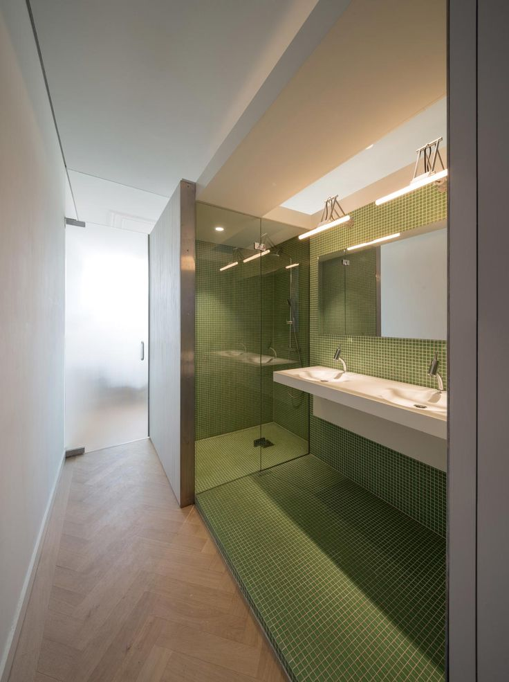 appartement delfshaven - interieur badkamermeubel