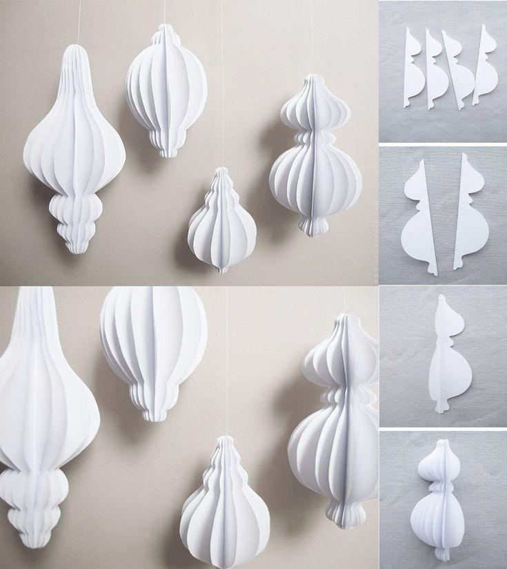 Decorações de Natal de papel que você pode fazer em casa   – Ramadan and Eids