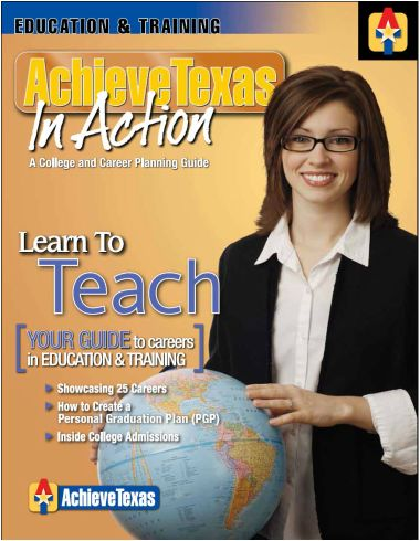 §130.142. Principles of Education and Training (One-Half to One Credit).(c)  Knowledge and skills. (1)  The student completes career investigations within the education and training career cluster. The student is expected to: (A)  identify and describe the various careers found within the education and training career cluster;