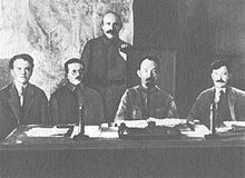 Cheka heads/ Yakov Peters/Jozef Unszlicht/A. Yakov Belenky/Felix Dzerzkinsky/Vyacheslav Menzhinsky. CHEKA carried out mass executions, ran GULAGS, terrorized populace. They used shootings/bayonneting/boiled/burnt/froze to death their victims. They even crucified/used rats to eat victims alive. Many of their demented executioners had a real fetish to hunt  down Whites (Christian Orthodox Czarist supporters)