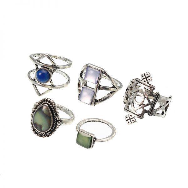 O rings home depot 5 pcs stylish bohemian geometric alloy resin ring set jewelry for women #rings #under #100 #rings #zwiastun #ringspun #t #shirts #wholesale #v #rings #trelleborg