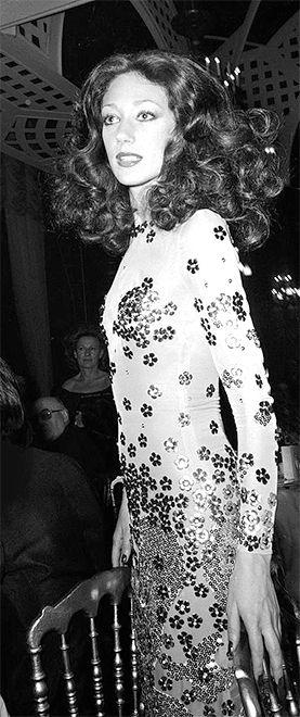 Los looks de Marisa Berenson, lo mejor de los 70