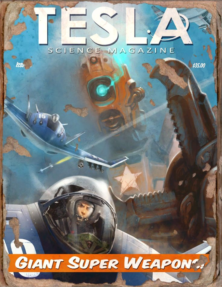 Tesla #5 Book - Fallout 4 by PlanK-69 on DeviantArt