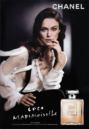 Chanel Perfume Ads- one of my favorite scents