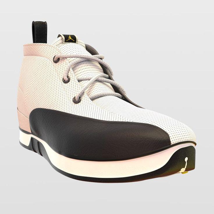 Air Jordan Xii Select 3D C4d - 3D Model
