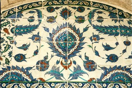 Iznik Tiles: Rüstem Paşa Mosque ~ Istanbul