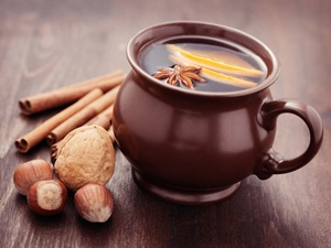 Scandinavian glögg is a mulled winter wine (similar to German/Austrian glühwein) with ginger, cloves, and other spices. Urd shares more about this delicious drink -- including the origins of its name -- in this clip from NPR.