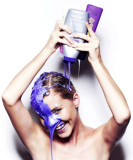 Purple Shampoo Blonde Hair Care Tips | What purple shampoos are, who should use them, and all the different ways you can incorporate them into your routine. #refinery29 http://www.refinery29.com/purple-shampoo