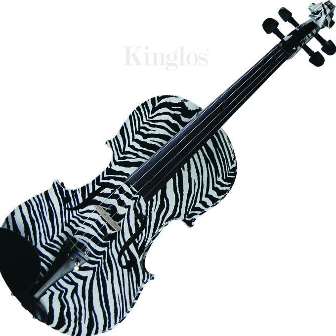 Zebra Print Viola!!! This is like my dream!!! When i grow up I am sooo getting one of these
