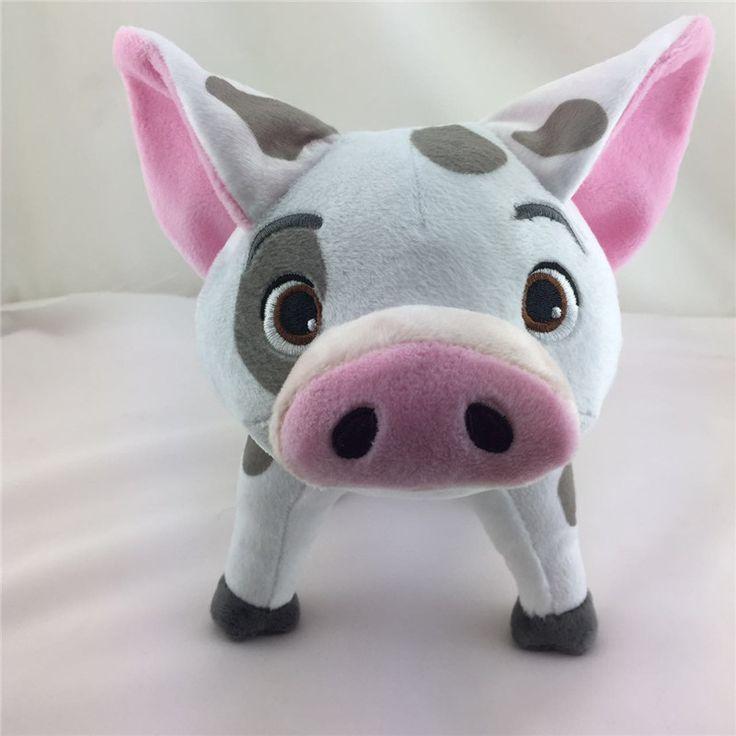 2016 Film Moana Melihat Babi 20 cm Plush Doll Lembut Stuffed Hewan Mainan Untuk Bayi Anak Ulang Tahun Hadiah Natal