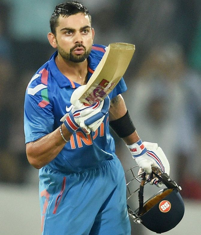 India retained the No 1 spot in the latest Reliance ODI team rankings while Virat Kohli maintained the number two position with skipper Mahendra Singh Dhoni static at the seventh place in the batting chart released in Dubai.   ODI Rankings: India continues to top table; Kohli No 2