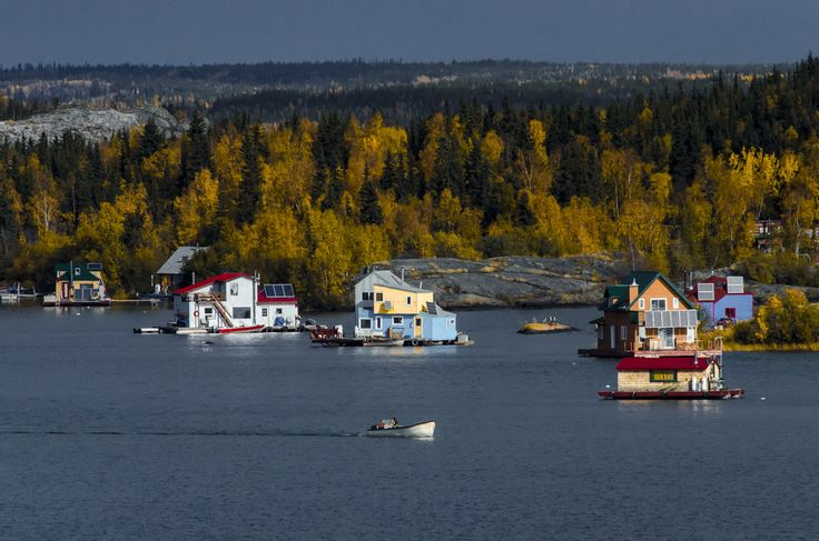 A Yellowknife House Boat Fall by Jason Simpson on 500px
