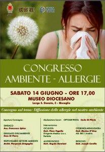 Ambiente e allergie, se ne discuterà sabato al Museo diocesano
