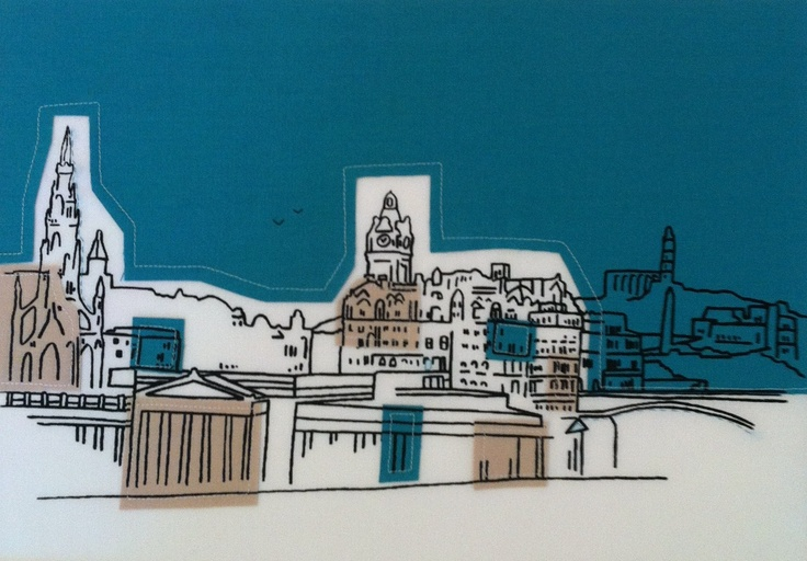 Edinburgh in print and textilesBees Ideas, Quilt Bees