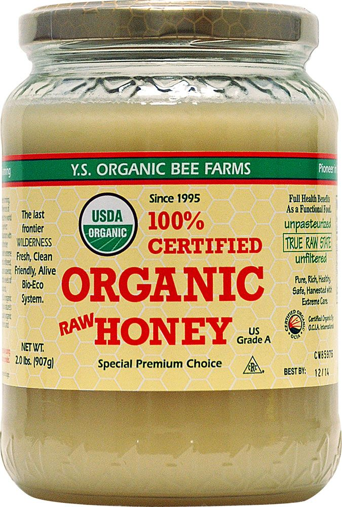 My Favorite RAW ORGANIC Honey UNFILTERED too ..... YS Eco Bee Farms Raw Honey -- 2 lbs