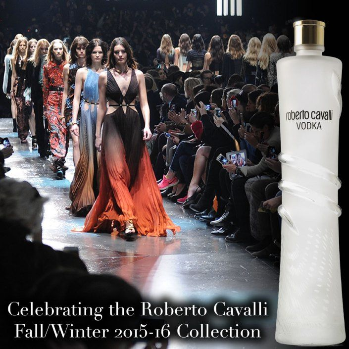 Celebrating the Roberto Cavalli Fall/Winter 2015-16 Collection