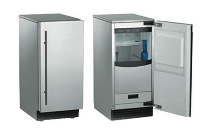 Amazon Com Scotsman Scn60pa 1ss Brilliance Nugget Ice Machine Door Finish Stainless Steel Drai Outdoor Kitchen Outdoor Appliances Outdoor Kitchen Appliances