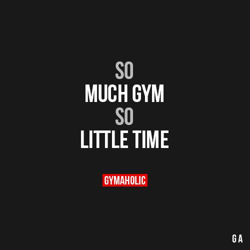 So Much Gym