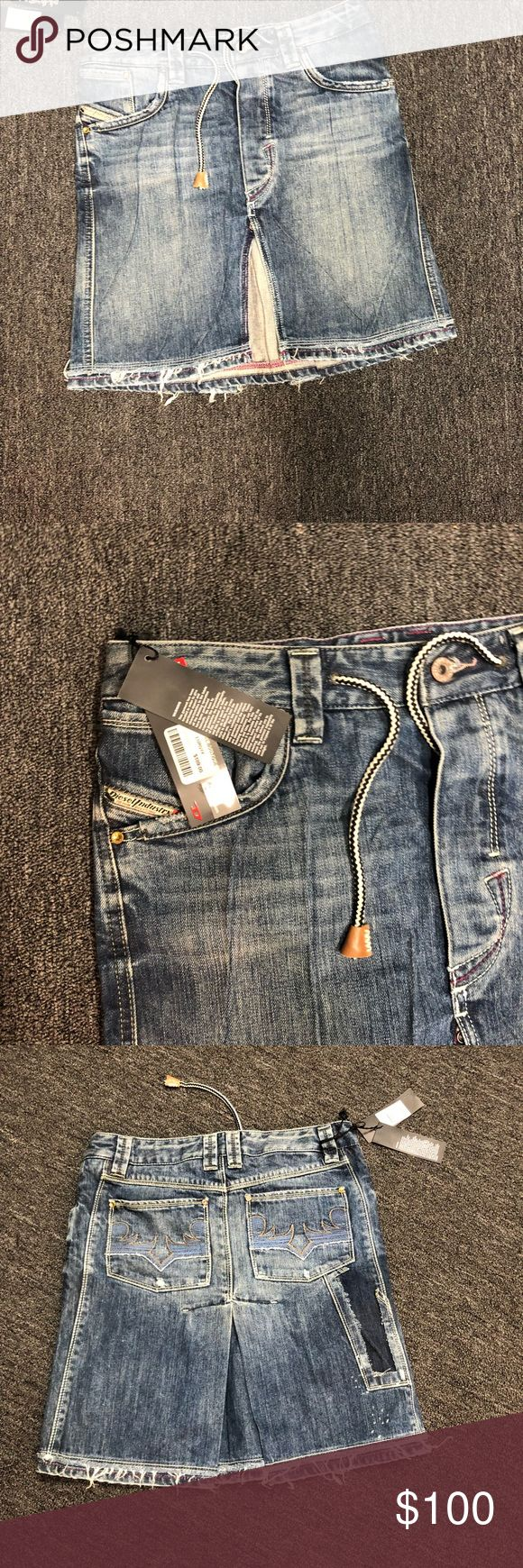 Diesel Skirt Jean skirts. Size 28 Diesel Skirts A-Line or Full