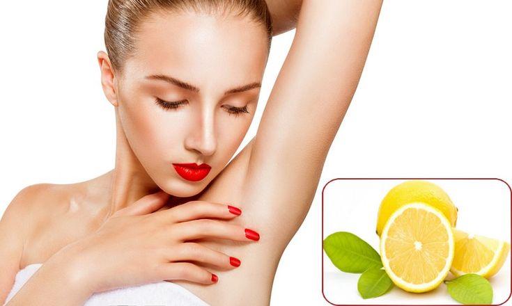 Lemon to Get Rid Of Dark Underarms