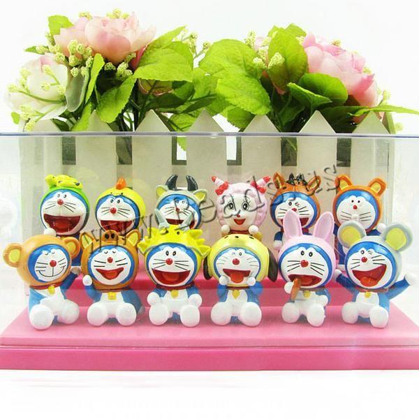 Plástico Decoración, Dibujos animados, mixto, 50mm, 5Conjuntos/Grupo, 12Unidades/Conjunto, Vendido por Grupo,Abalorios de joyería por mayor de China